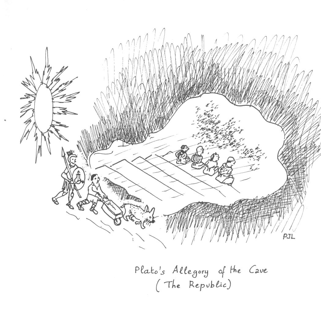 a dialogue on nature the allegory of the cave by plato Get an answer for 'why did plato write the republicwhy did plato  arguments for his views on the nature of  presents the allegory of the cave.